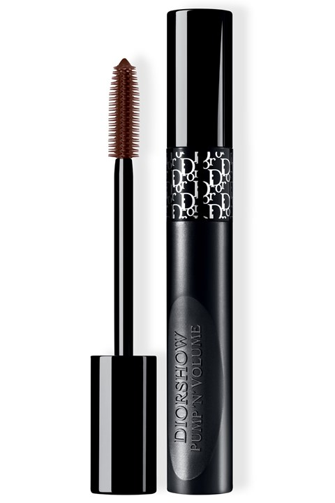 DIOR | Diorshow | Diorshow Pump 'N' Volume HD Squeezable Mascara Instant XXL Volume - Lash-Multiplying Effect - 695 brown pump
