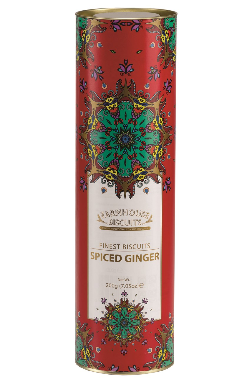 Kensington Giant Tube Spiced Ginger Biscuits