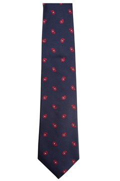 Red Drop Tie - 004