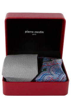 Tie And Pocket Square Box Set 120 SILVER 1