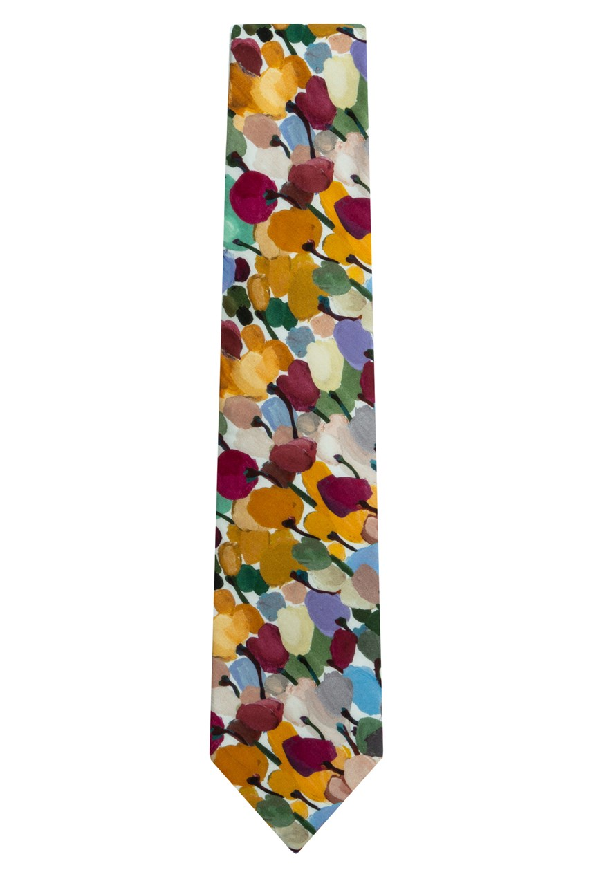 Liberty Tulip Fields Tie