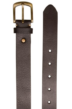 Women's Mulberry Slim Belt BLACK 1