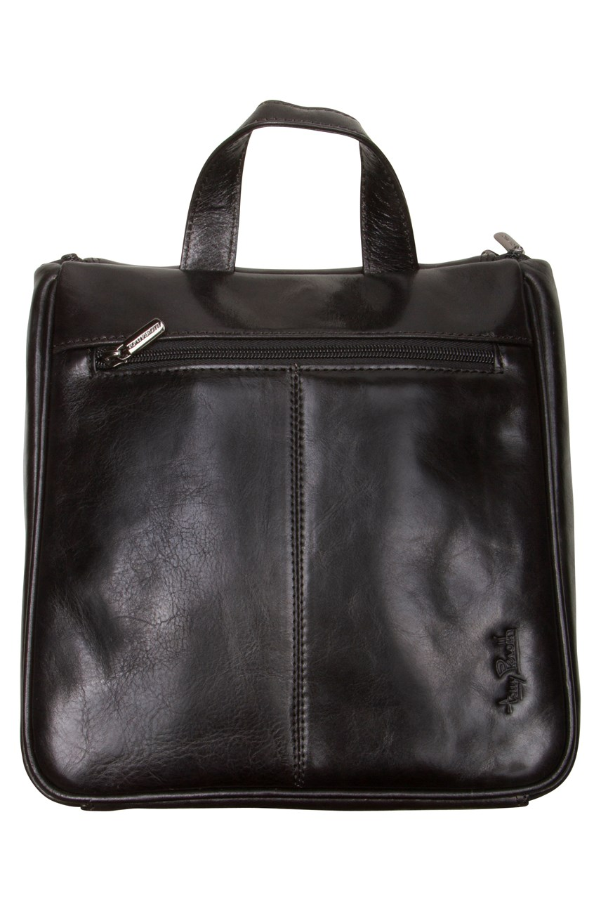 Hanging Toilet Bag Black