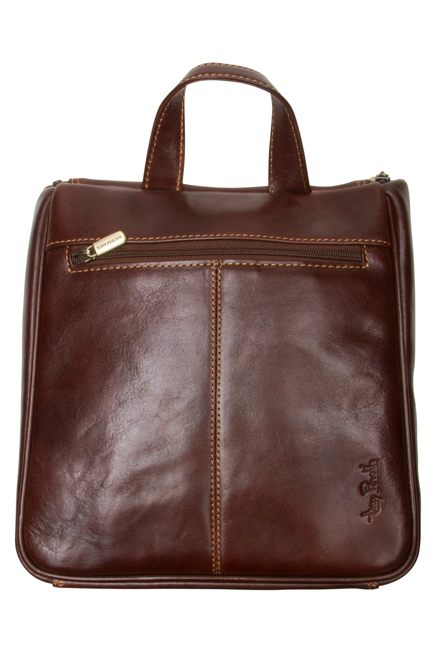 Hanging Toilet Bag Brown