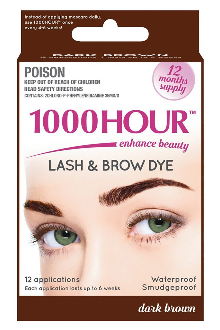 1000 Hour Lash Dye - Dark Brown