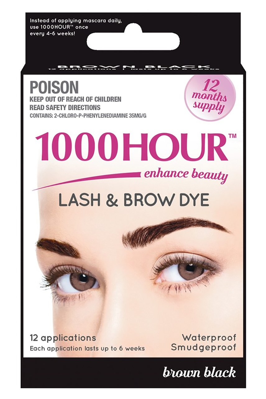 1000 Hour Lash Dye - Brown Black