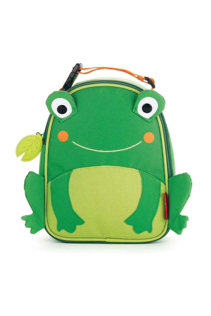 Zoo Lunchie Frog Insulated Lunch Bag
