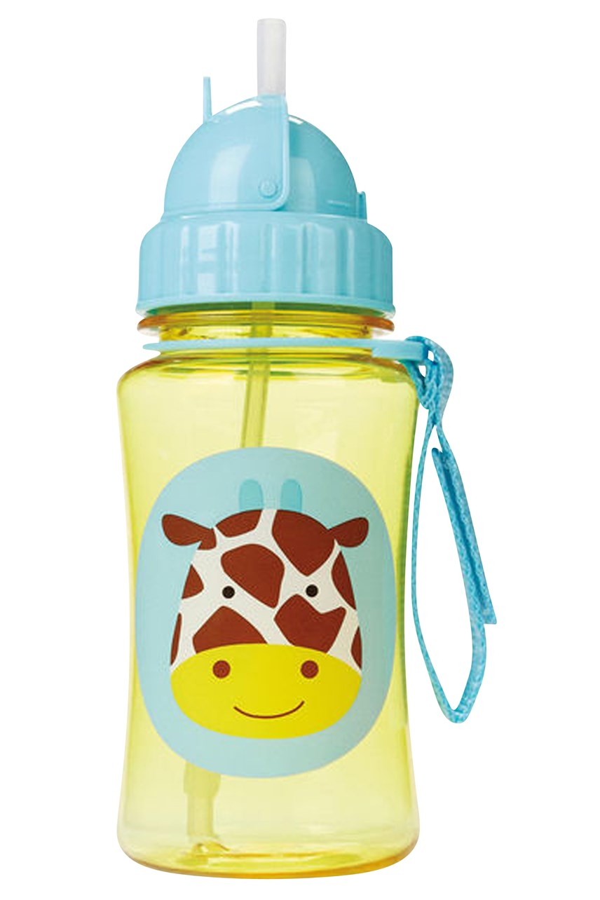 Giraffe Straw Bottle