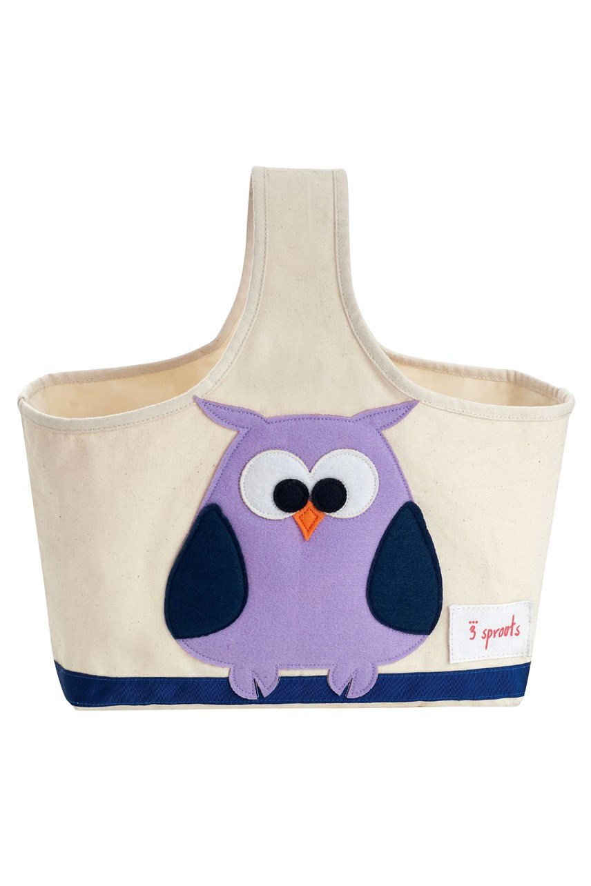 Purple Owl Storage Caddy