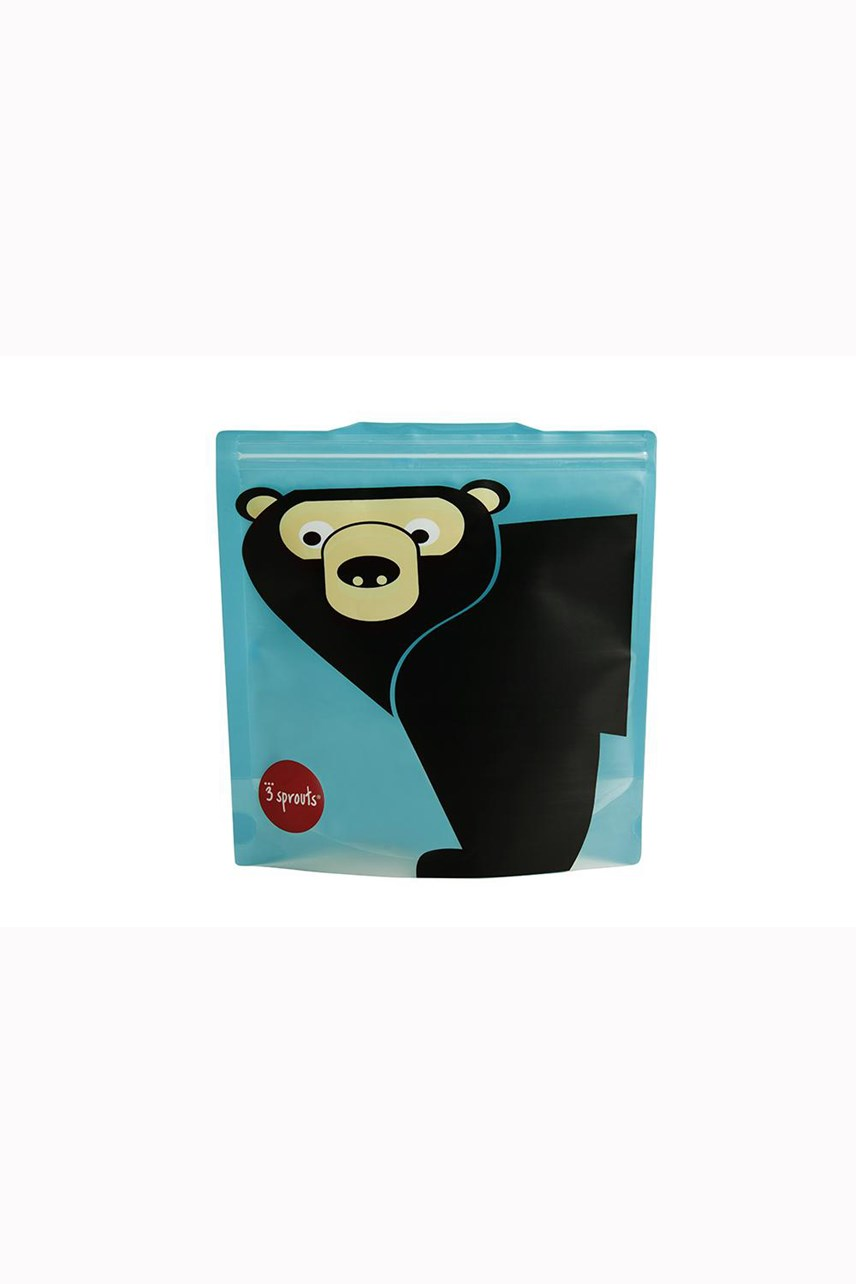 Bear Sandwich Bag - 2 Pack