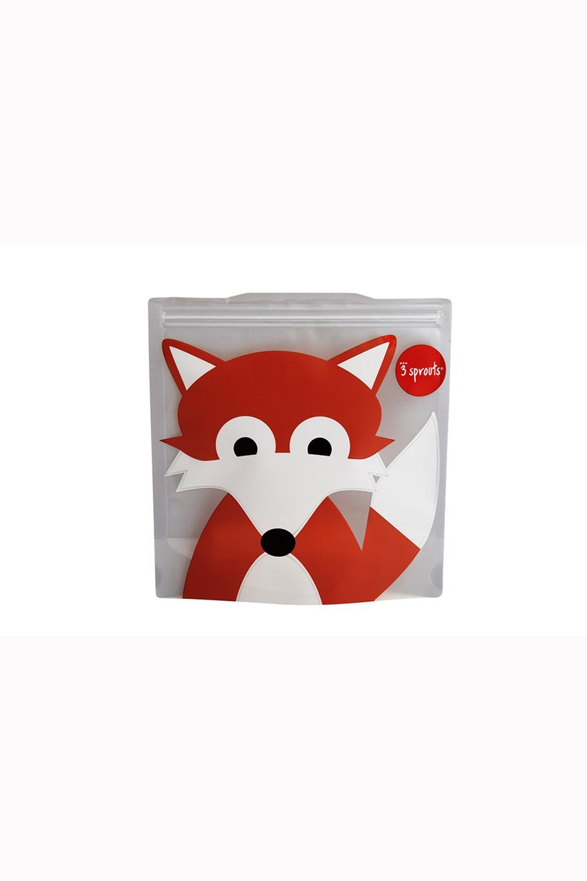 Fox Sandwich Bag - 2 Pack