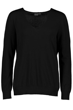 Cotton V Slouchy BLACK 1