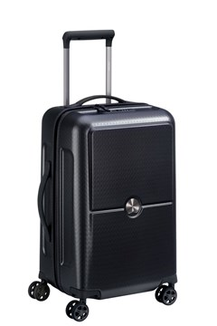 Turenne 55 cm 4 double wheels cabin trolley case BLACK 1