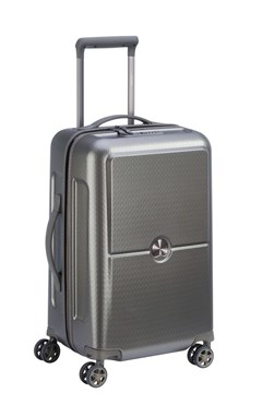 Turenne 55 cm 4 double wheels cabin trolley case SILVER 1