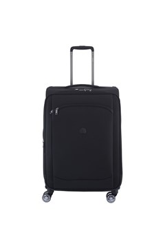 Montmartre Air Four Wheel 68cm Expandable Trolley Case BLACK 1