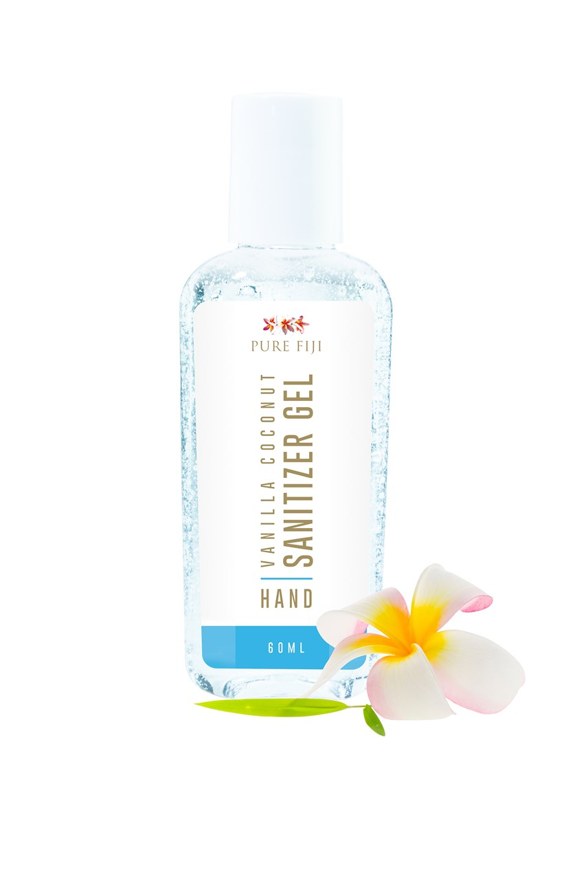 Vanilla Coconut Hand Santizer Gel - Travel Size