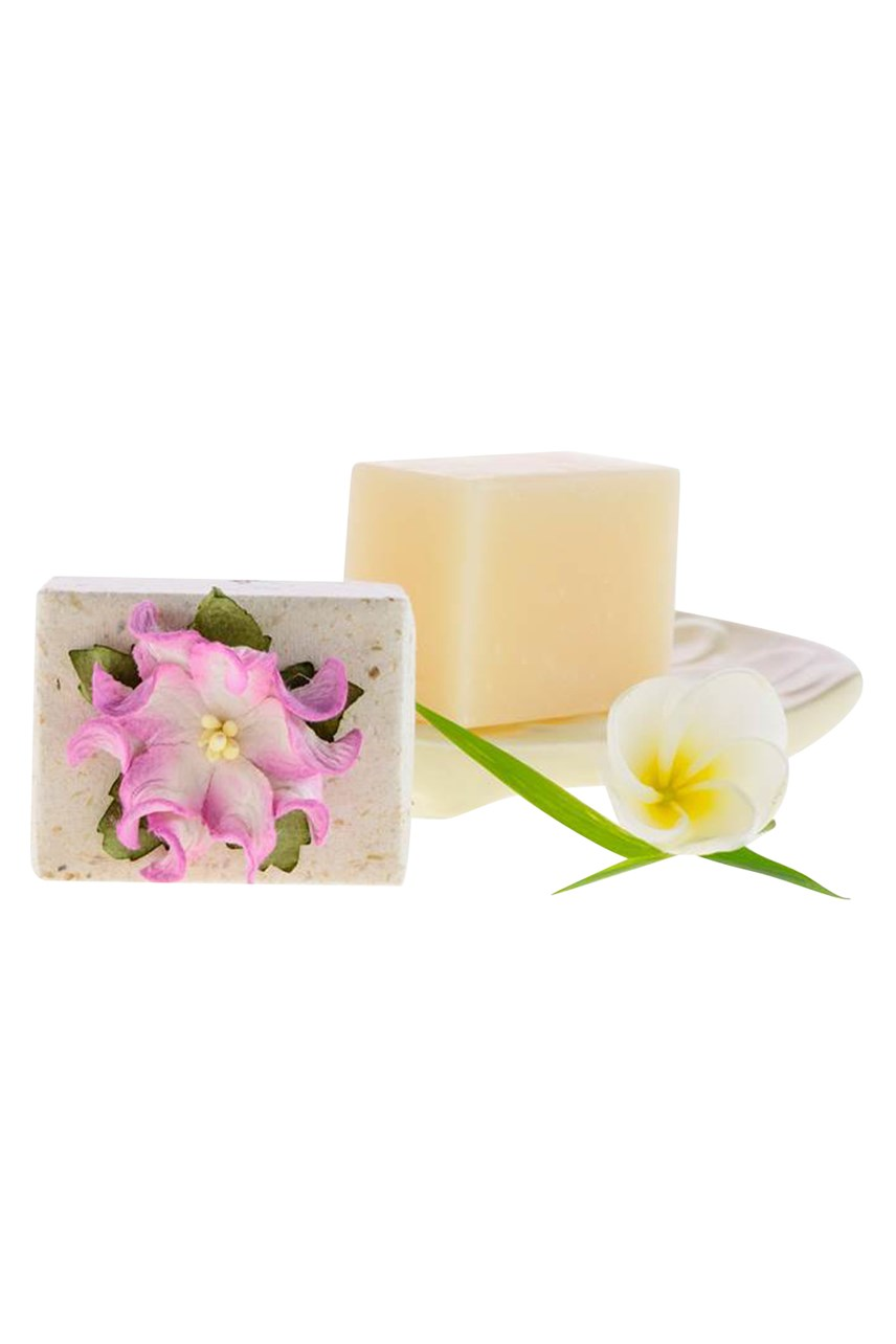 Mini Luxury Soap - Frangipani