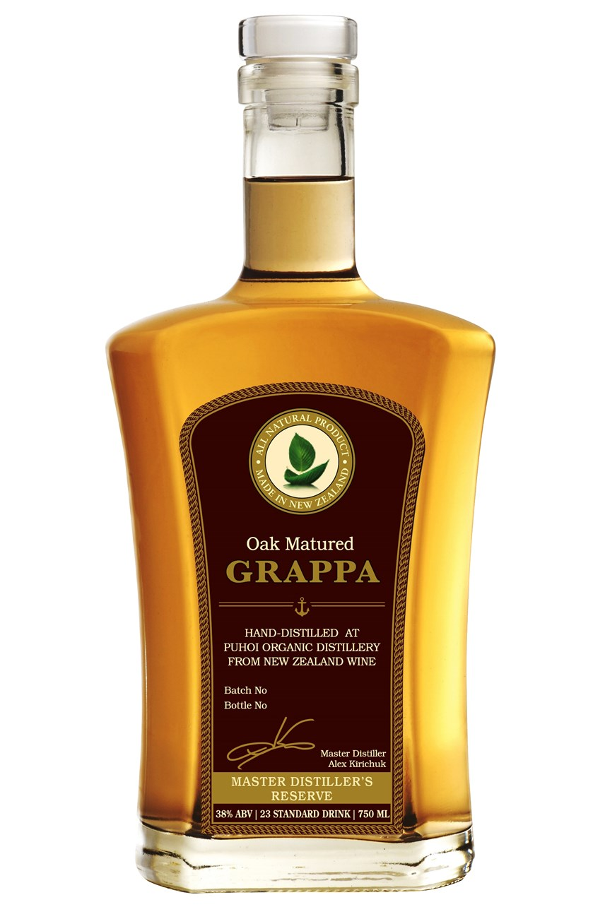 Oak Matured Grappa