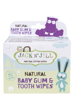 Natural Baby Gum & Tooth Wipes 25 Pack 1