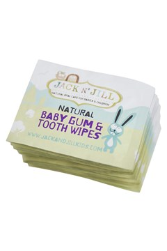 Natural Baby Gum & Tooth Wipes 25 Pack -