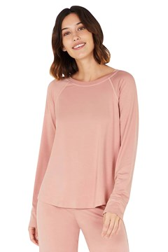 Goodnight Raglan Sleep Top DUSTY PINK 1