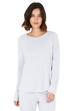 Goodnight Raglan Sleep Top DOVE 1