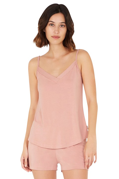 Goodnight Sleep Cami - dusty pink