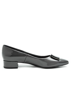 Patent Ballet Flat CHARCOAL 1
