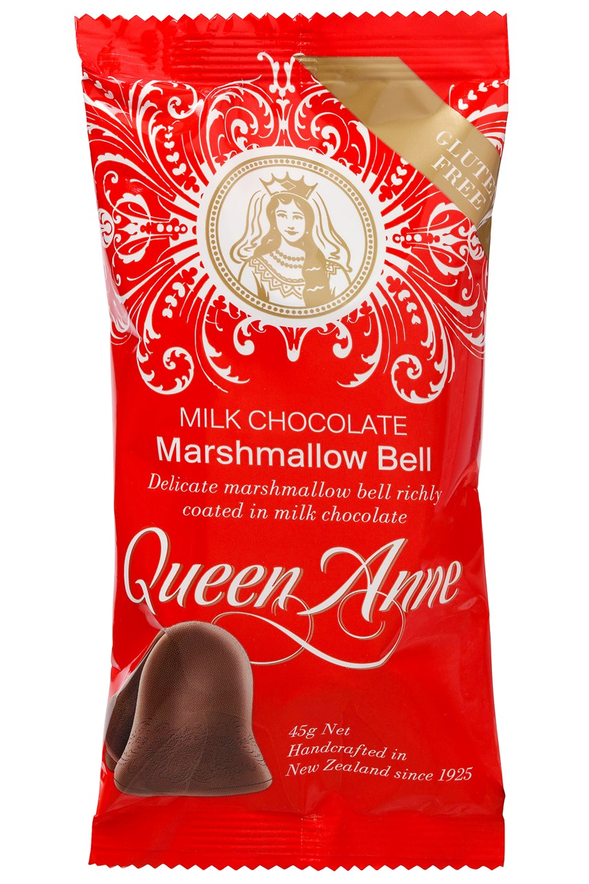 Single Serve Milk Chocolate Marshmallow Bell