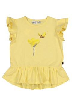 Hey Buttercup Frill Tee YELLOW 1