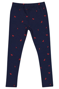 Loveheart Legging - navy