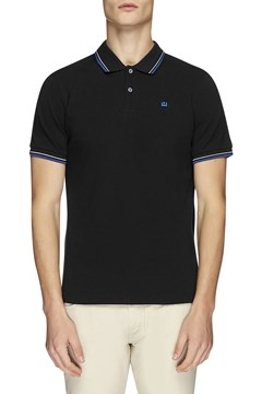 The Romford Polo BLACK BLUE 1