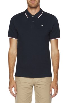 The Romford Polo NAVY WHITE 1