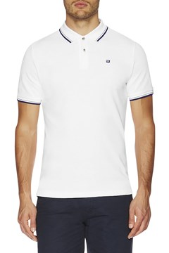 The Romford Polo WHITE BLUE 1