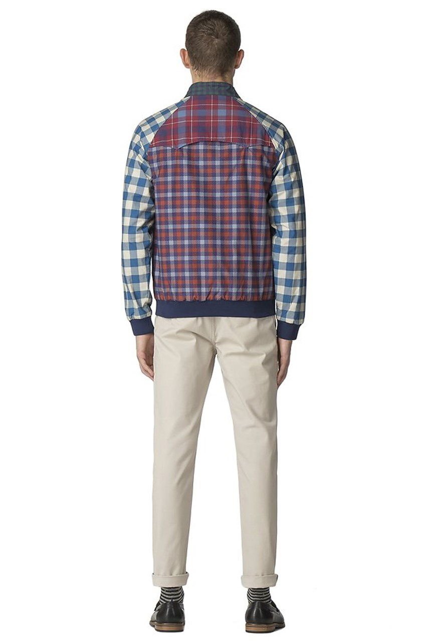 HOH Digitally Printed Harrington Jacket