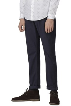 Slim Stretch Chino - dark navy