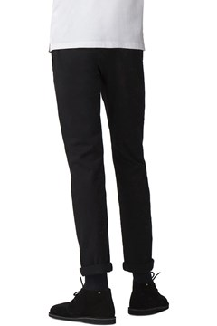 Slim Stretch Chino - black