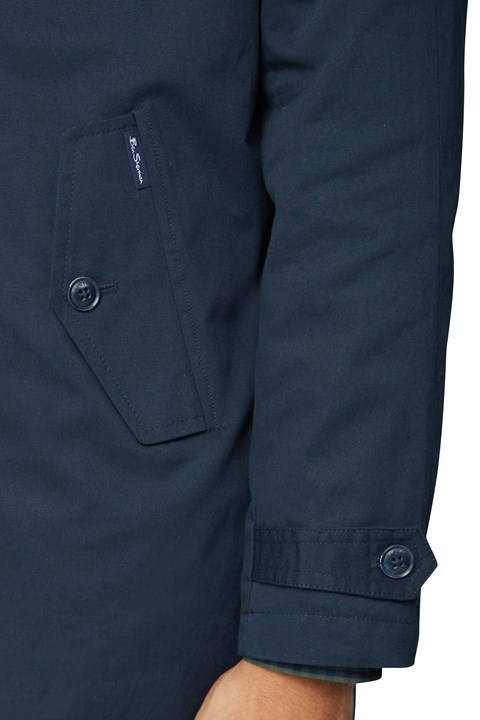 Button Up Mac - dark navy