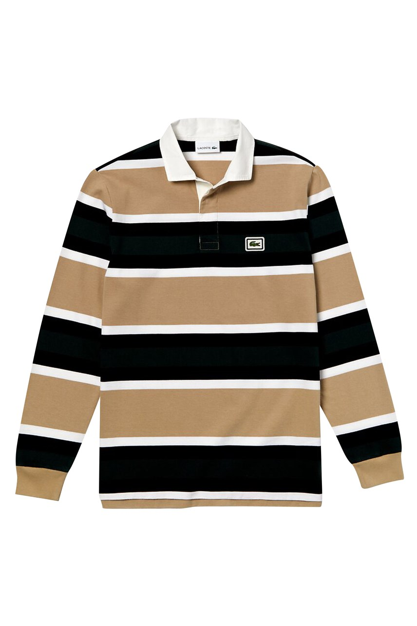 Stripe Jersey Rugby Polo