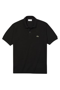 Classic Fit Polo Shirt BLACK 1