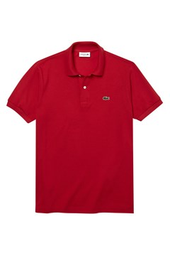 Classic Fit Polo Shirt RED 1