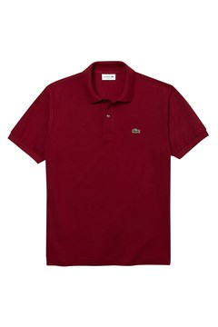 Classic Fit Polo Shirt BORDEAUX 1