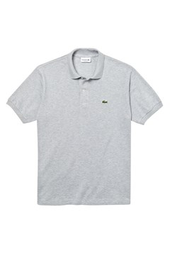 Classic Fit Marle Polo Shirt SILVER CHINE 1