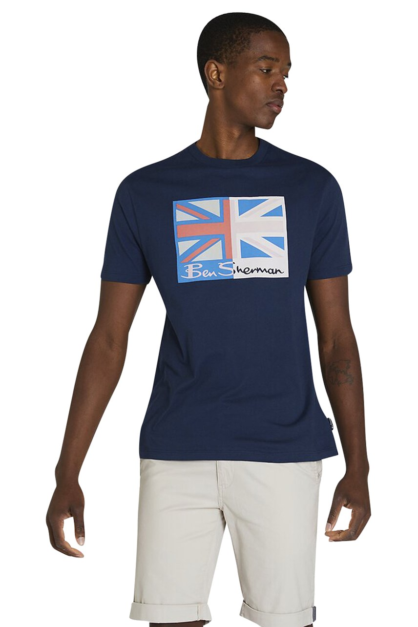 Spliced Flag Tee
