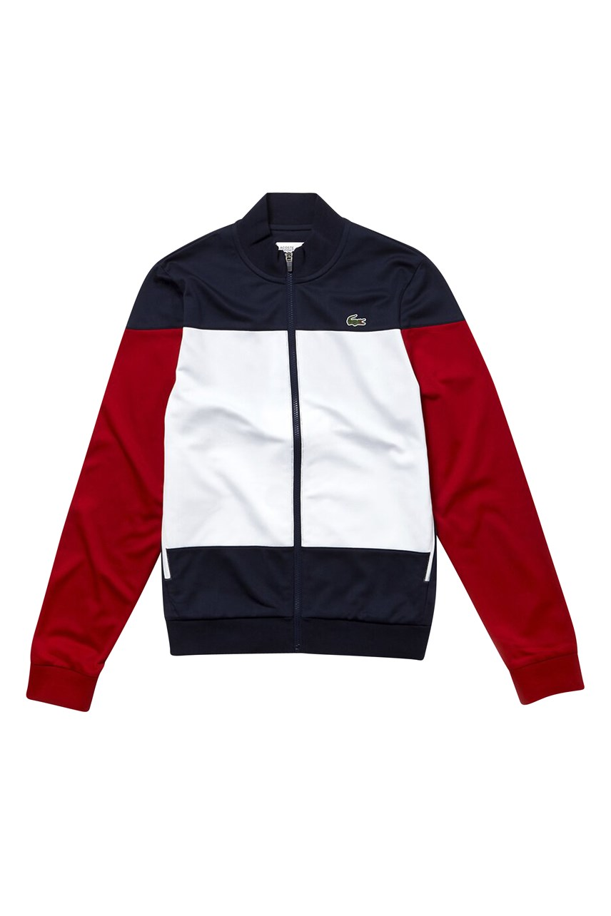 SPORT Colourbock Technical Piqué Zip Tennis Jacket