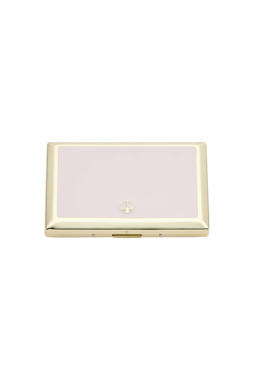 Spade Street Blush Card Holder