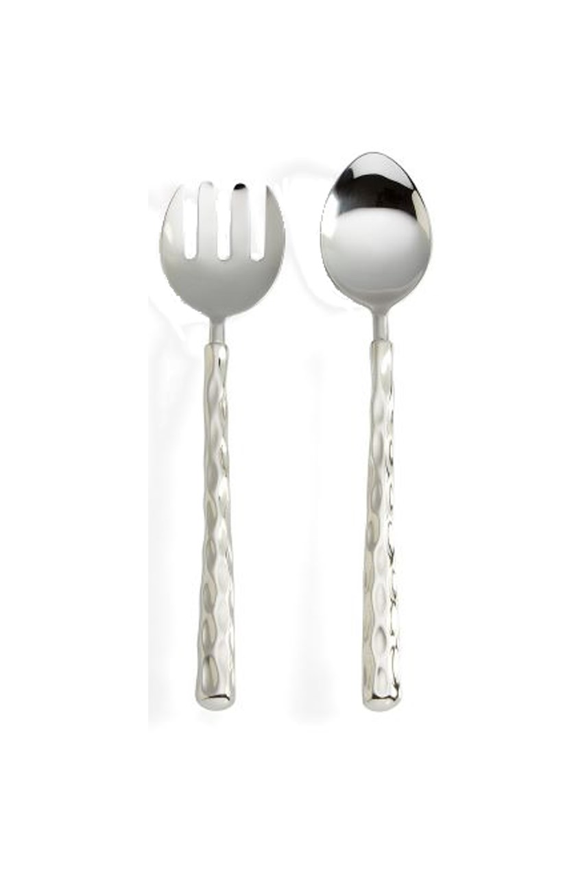 Truro Platinum Salad Servers Pair