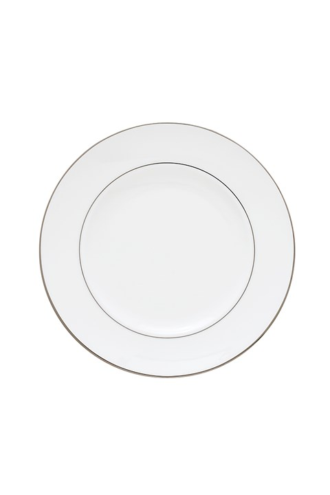 'Continental Dining' Lunch Plate - white