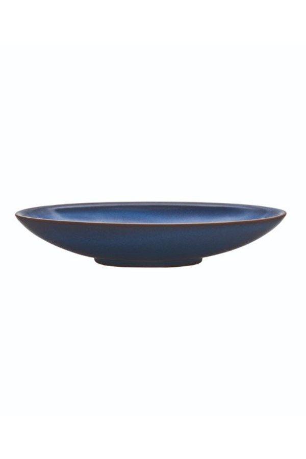 Imperial Blue Oval Serving Dish - Medium