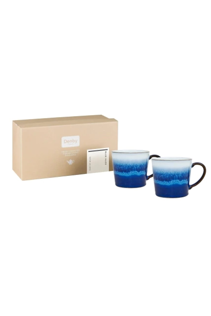 Blue Haze Large Mug - Set of 2